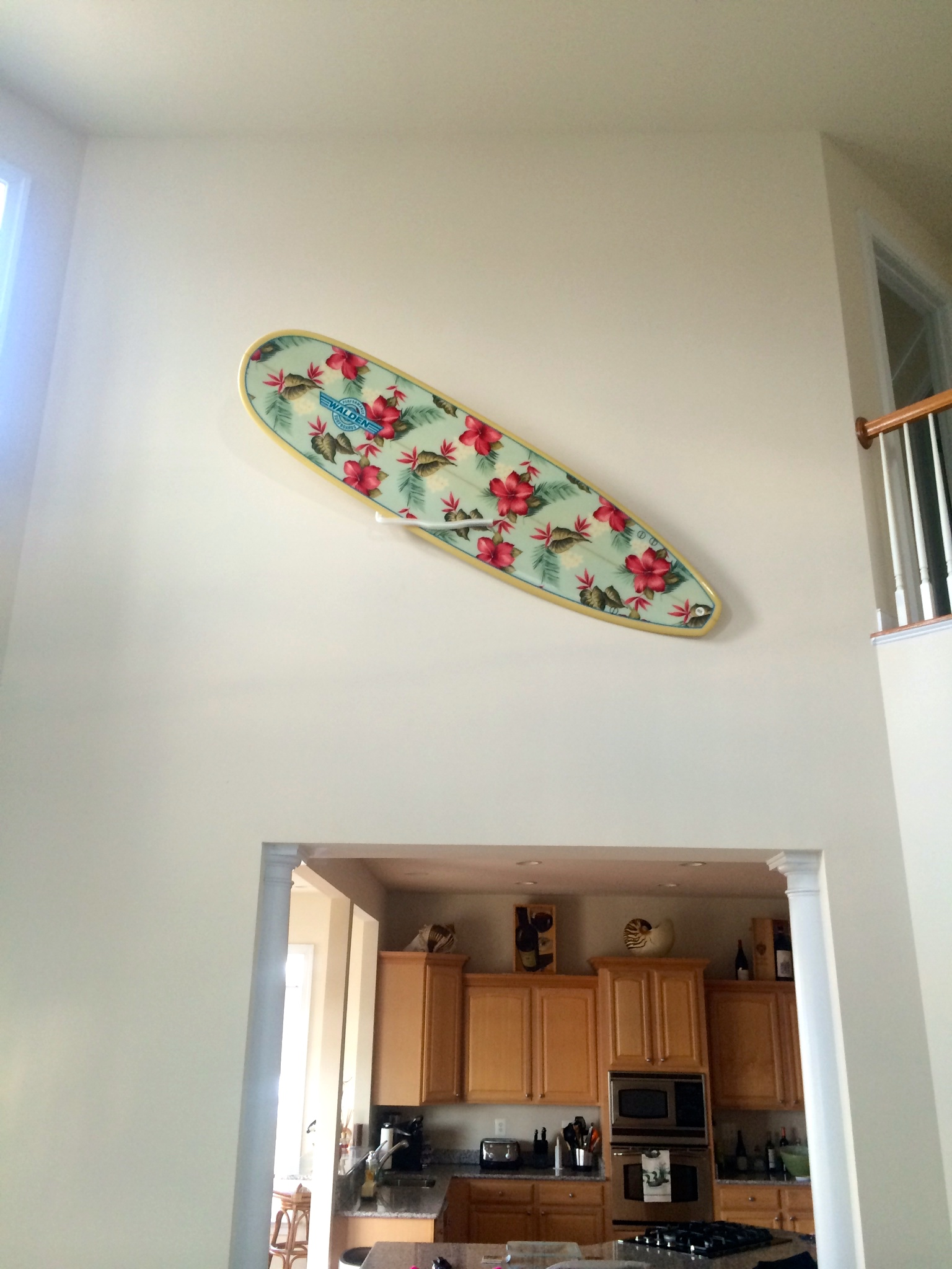 Surfboard Mount Display