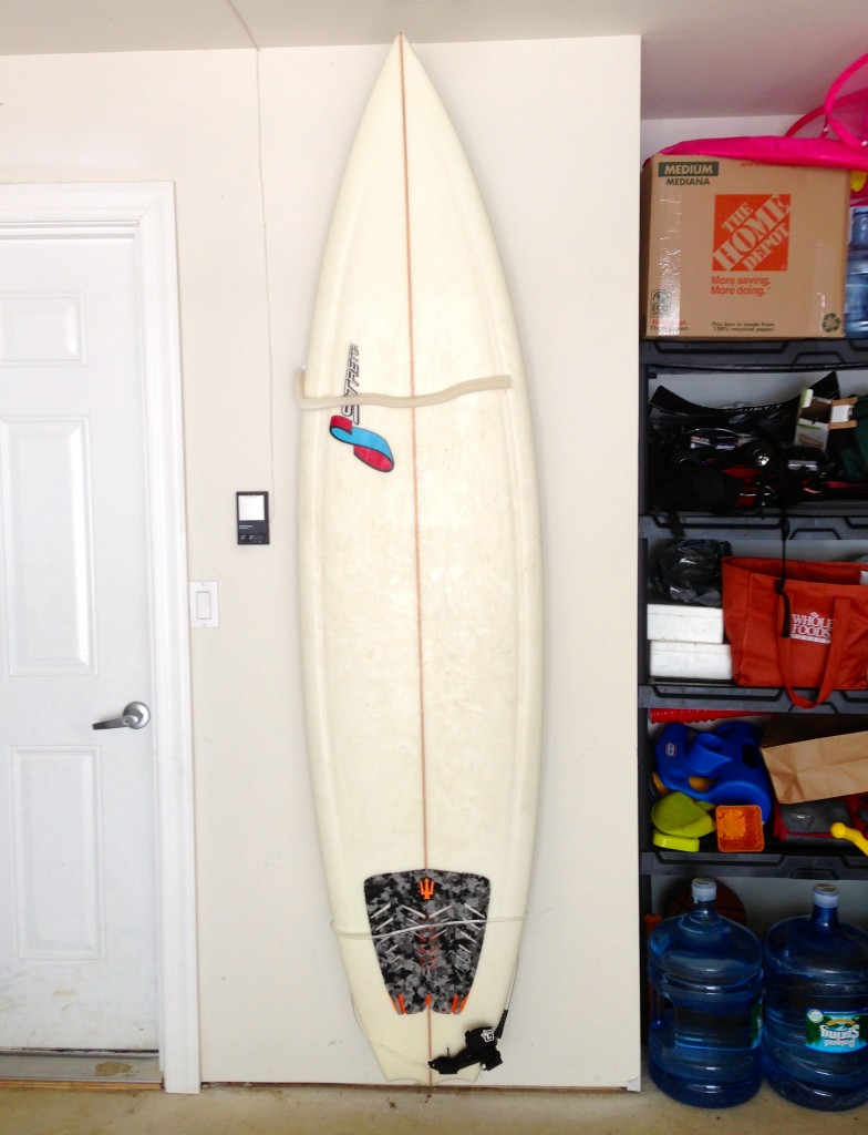Wall Mounted Surfboard Rack From MOUNTiT