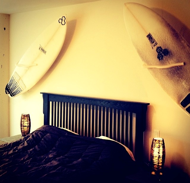 Surfboard Wall Mount, Surfboard Mount Rack Display – Easy install ...