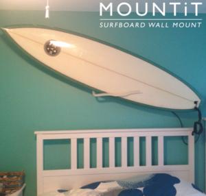 Surfboard Wall Mount Surfboard Mount Rack Display Easy